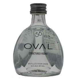 Oval Vodka 56 Structured Vodka Miniatures 50ML
