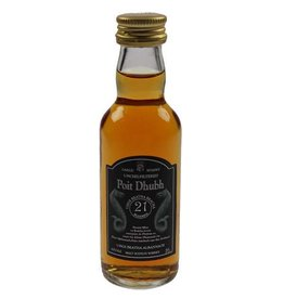 Poit Dhubh 21 Years Old Malt Whisky Miniatures 50ML