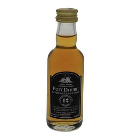 Poit Dhubh 12 Years Old Malt Whisky Miniatures 50ML