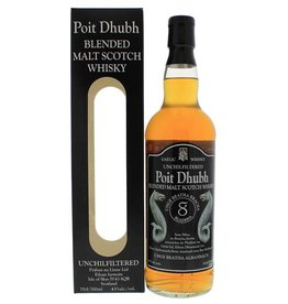 Poit Dhubh 8YO Malt Whisky 700ml Gift box