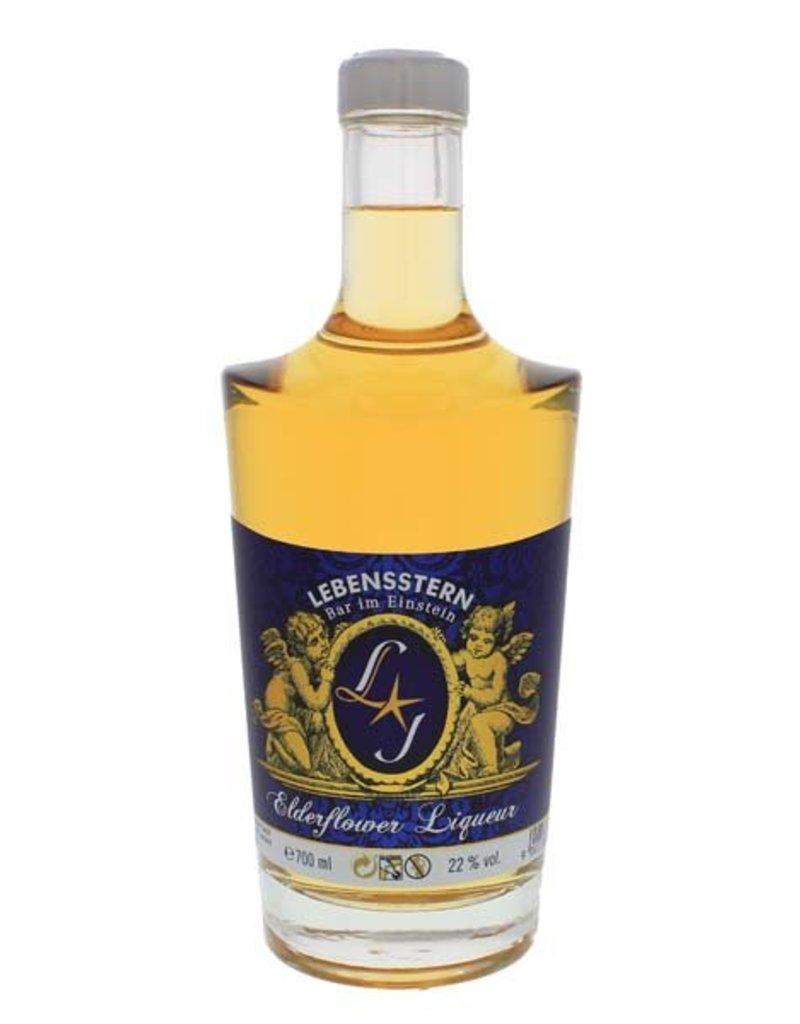 Lebensstern Lebensstern Elderflower Liqueur 700ml  22,0% Alcohol