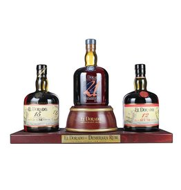 El Dorado Display Gift Pack 3x0,7L - Guyana