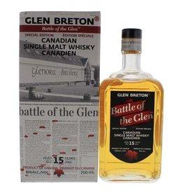 Glen Breton Battle of the Glen 15 Years Old Malt Whisky 700ml Gift box