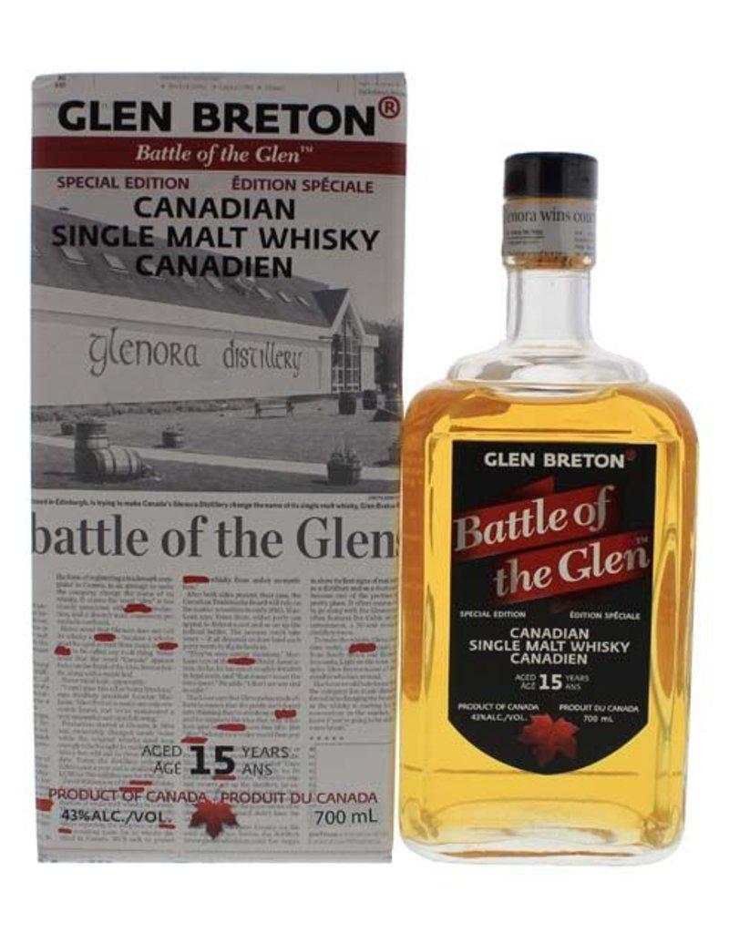 Glen Breton Glen Breton Battle of the Glen 15 Years Old Malt Whisky 700ml Gift box