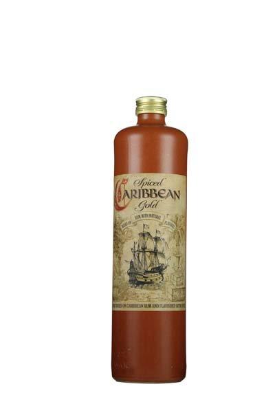 Caribbean Spiced Gold Rum 700ml -Stein-