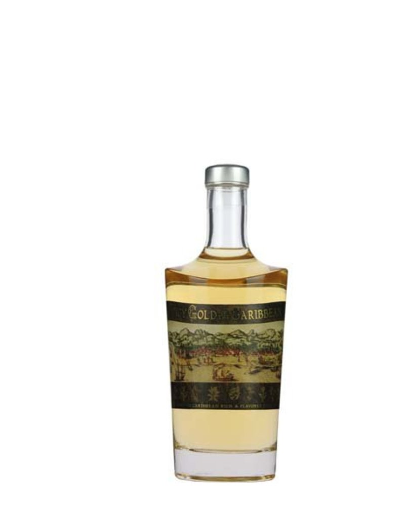 Caribbean Caribbean Spicy Gold Rum 700ml -Glas- 40,0% Alcohol