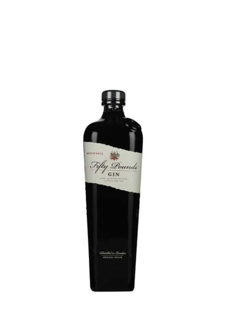 Fifty Pounds 700 ml Gin Fifty Pounds