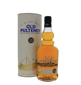 Old Pulteney 12 Years Old Malt Whisky 700ml Gift box