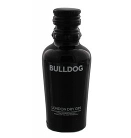 Bulldog Gin Miniatures 50ML PET US