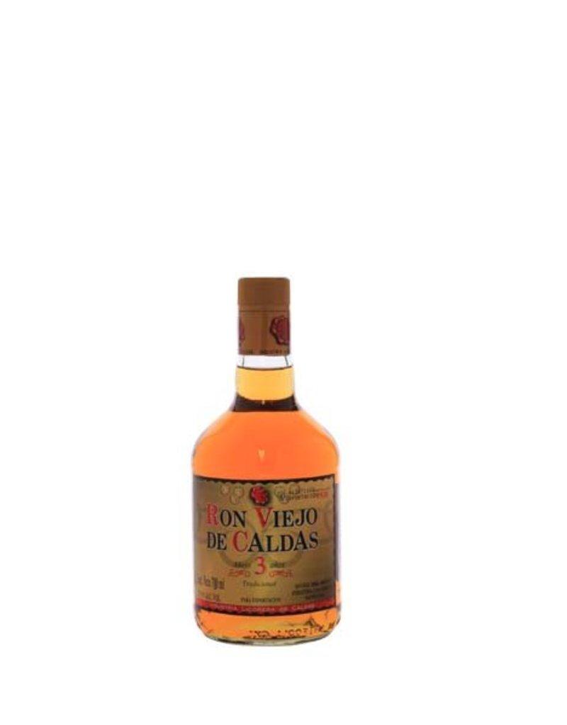 Ron Viejo de Caldas 3 Years Old 700ml 37,5% Alcohol