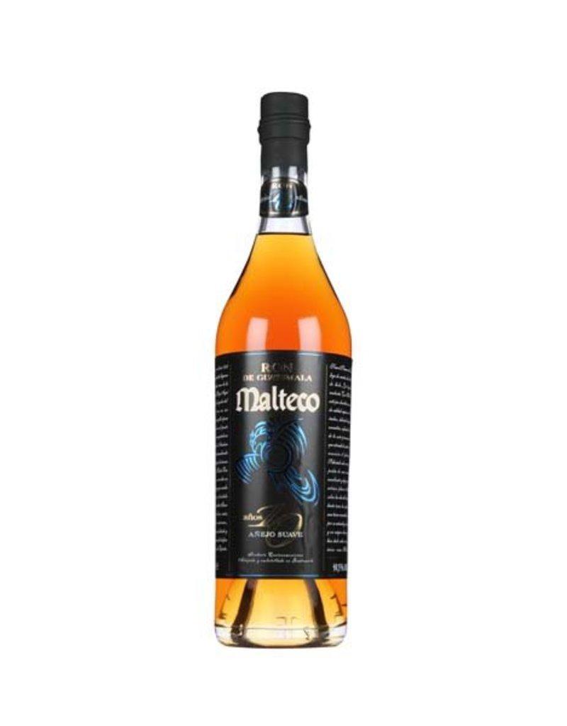 Malteco 700 ml Rum Malteco Anejo Suave 10 Anos - Guatemala