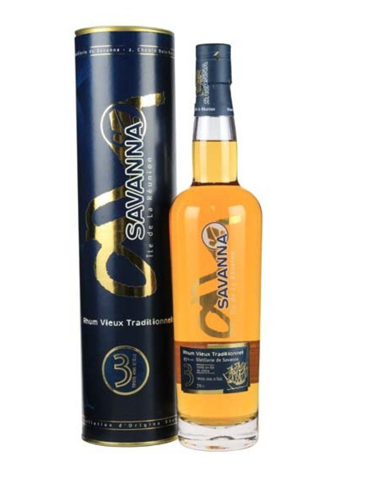 Savanna 700 ml Rum Savanna 3 Ans d Age - Reunion
