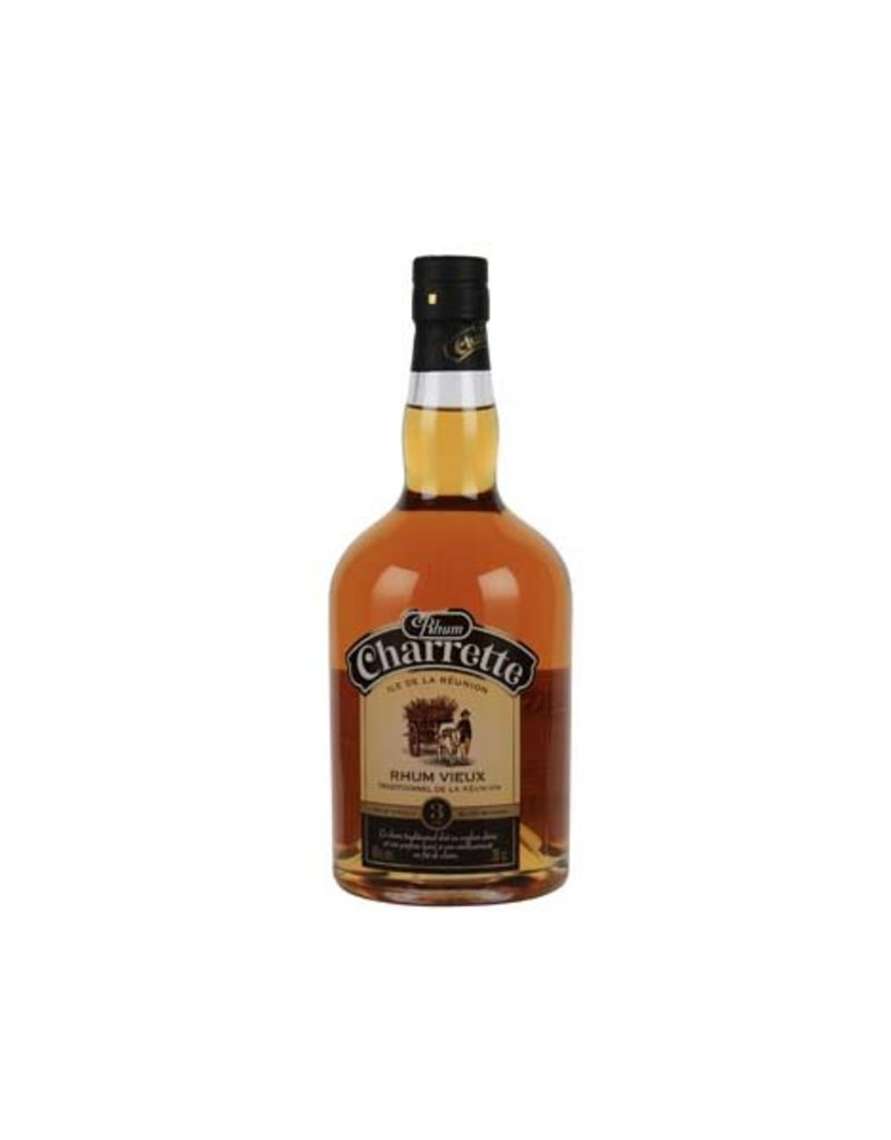 Charrette 700 ml Rum Charrette Traditionnel Vieux - Reunion