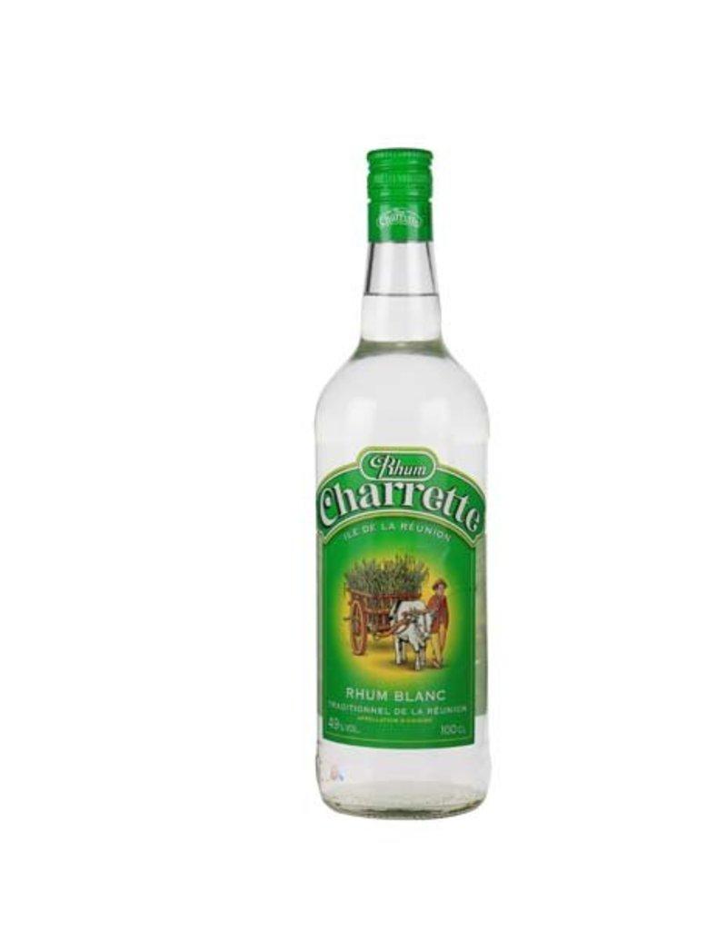 Charrette 700 ml Rum Charrette Traditionnel Blanc 49% - Reunion