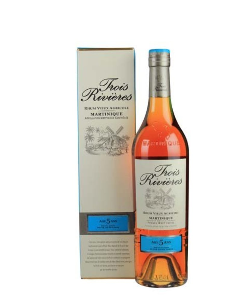 Trois Rivieres Trois Rivieres Vieux 5 Years Old 700ml Gift box