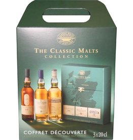 The Classic Malts Collection Strong 3x200 ml Gift box