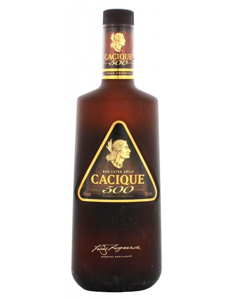 700 Ml Rum Cacique 500 Extra Anejo Venezuela Luxurious