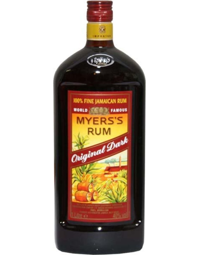 Myers original dark rum 1 0l 40 0 alcohol luxurious drinks for Best soda with rum