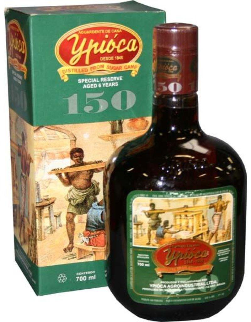 Ypioca 700 ml Cachaca Ypioca 150 Special Reserve 6 YO