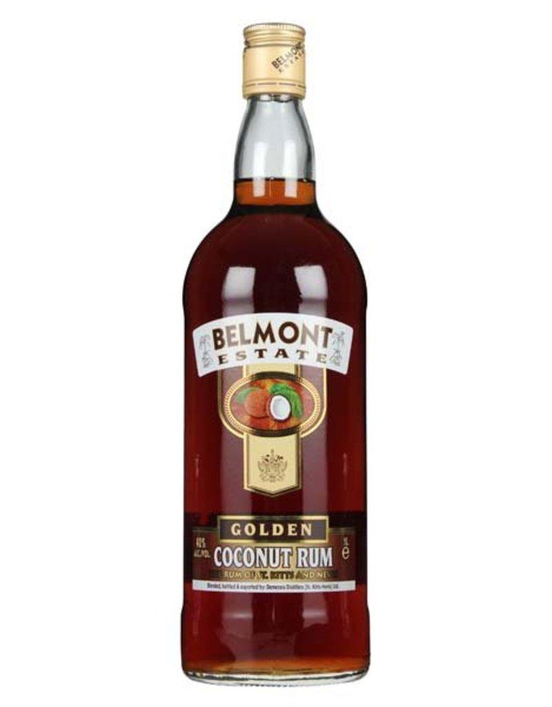 Belmont 1000 ml Rum Belmont Estate Gold Coconut Rum Liter - St. Kitts