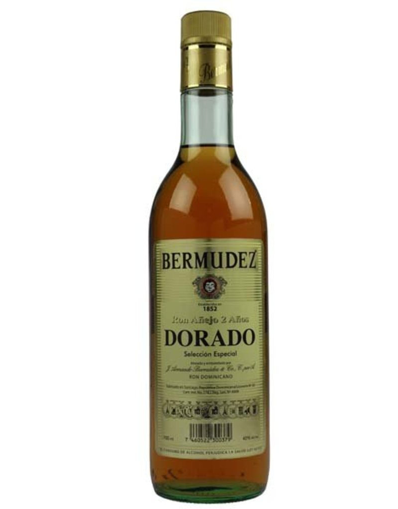 Bermudez 700 ml Rum Bermudez El Dorado