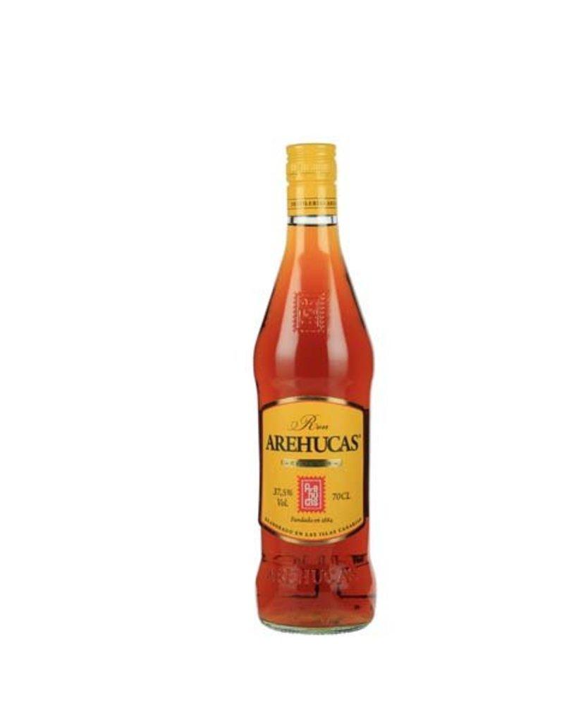 Arehucas 700 ml Rum Arehucas Dorado Oro