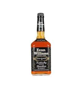 Bourbon Whiskey Evan Williams Kentucky Straight Bourbon