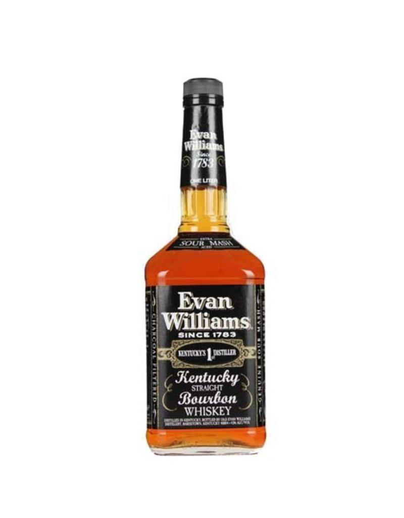 Evan Williams 1000 ml Bourbon Whiskey Evan Williams Kentucky Straight Bourbon