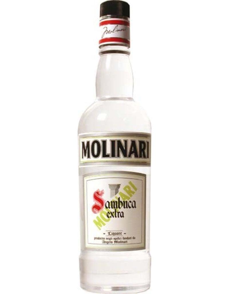 Secured Cards >> Sambuca Extra Molinari 1,0L 40,0% Alcohol - Luxurious Drinks™