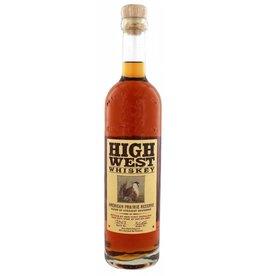 High West Distillery Prairie 700ML