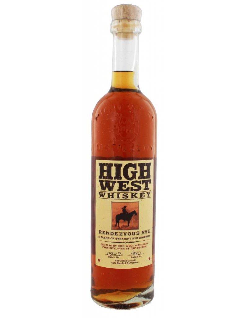 High West High West Distillery Rendezvous Rye 700ML