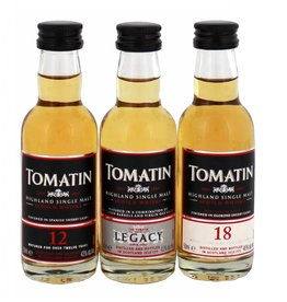 Tomatin Tomatin Miniatures Coopers Choice Pack 3x50ML
