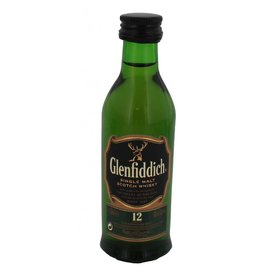 Glenfiddich 12 Years Old Malt Whisky Miniatures 50ML
