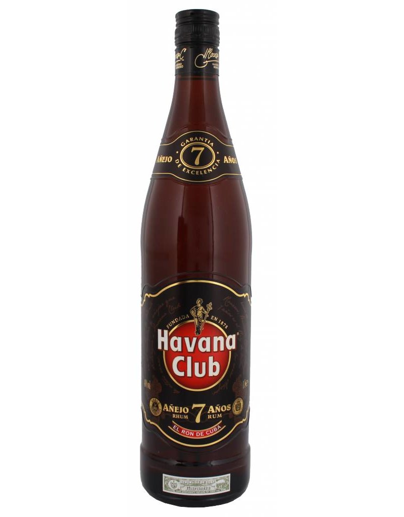 Havana Havana Club Anejo 7YO Rum 1 Liter Gift box
