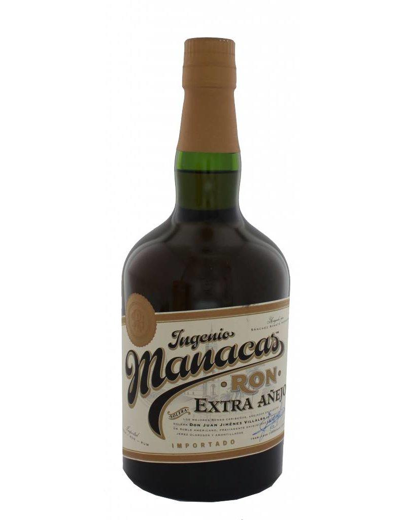 Manacas Ron Extra Anejo 700ml Gift box