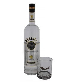 Beluga Beluga Noble Vodka 1 Liter + Glas Gift box