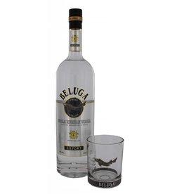 Beluga Noble Vodka 1 Liter + Glas Gift box