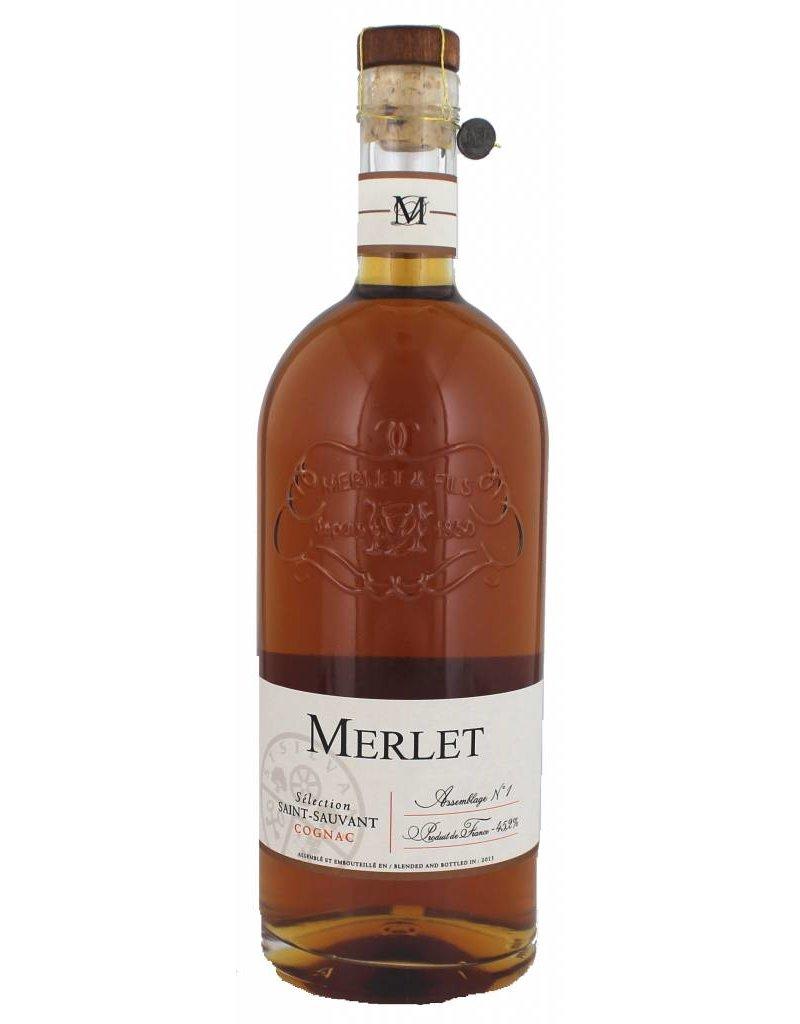 Merlet Merlet Selection Saint-Sauvant Cognac 700ml Gift box