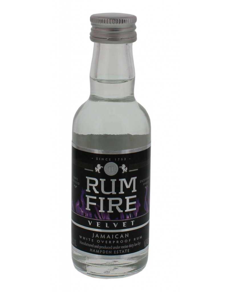 Rum Fire Velvet Overproof Miniatures 50ML