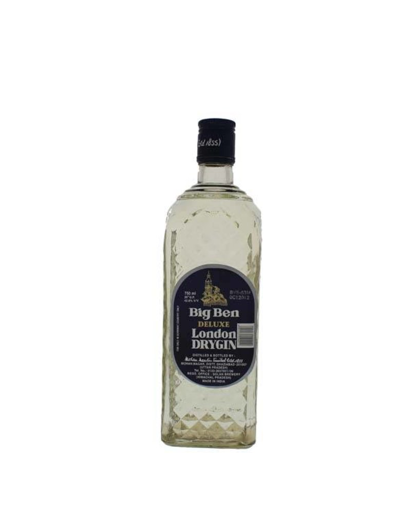 Big Ben Deluxe London Dry Gin 750ml Gift box