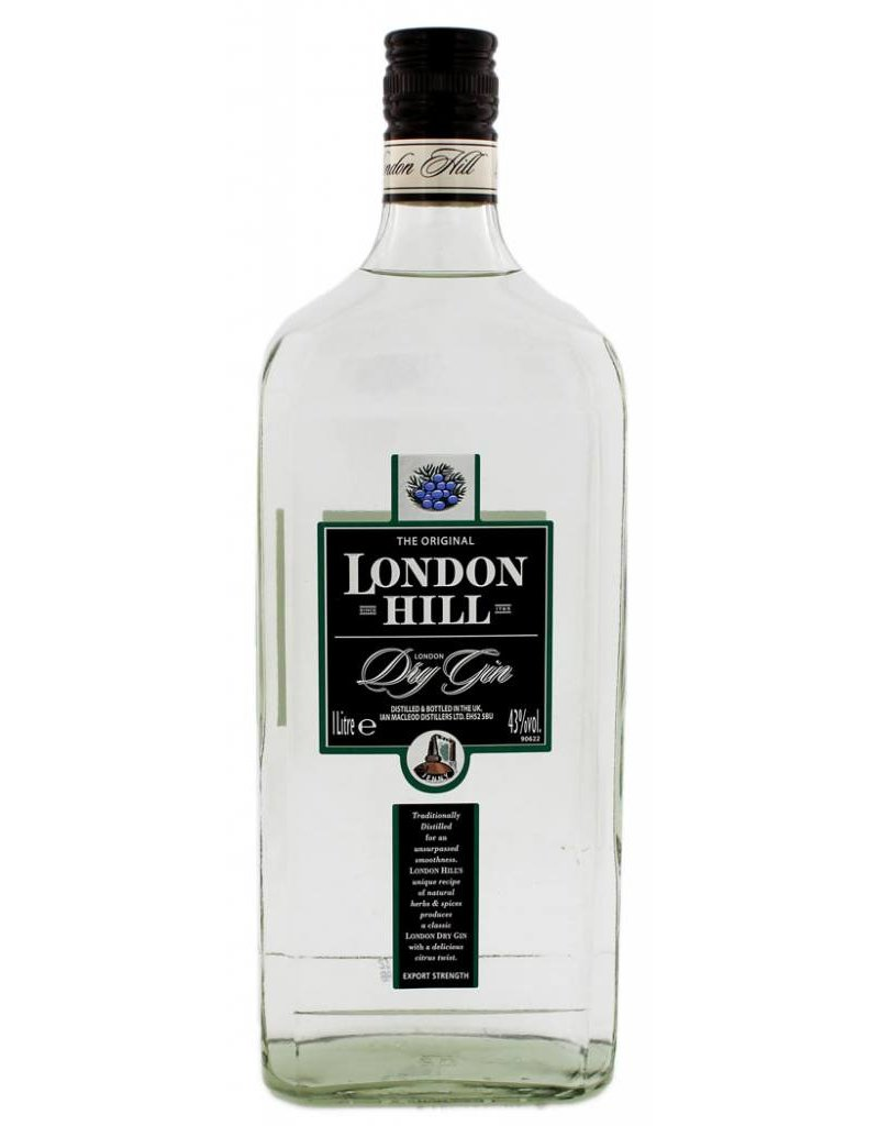 London Hill London Hill Dry Gin 1000ml 43,0% Alcohol