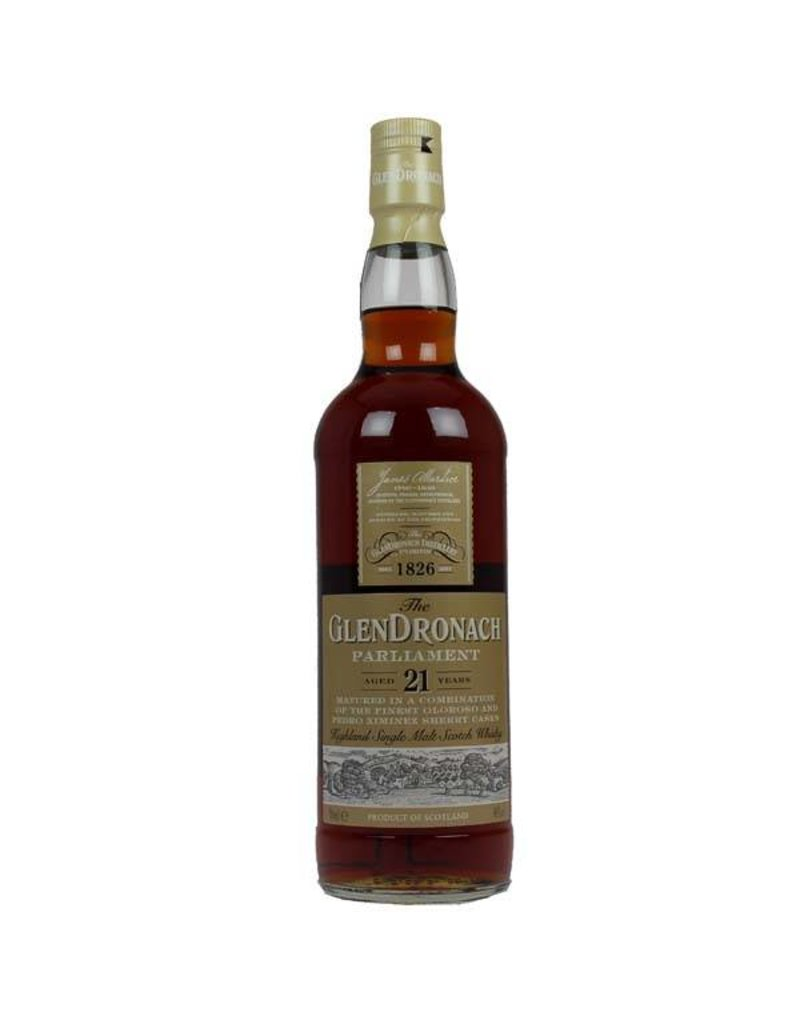Glendronach Glendronach 21 Years Old Parliament 700ml Gift box
