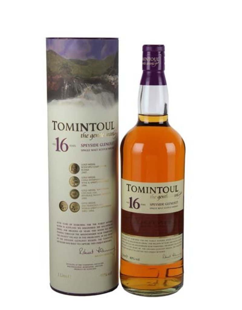 Tomintoul Tomintoul 16 Years Old 1 Liter Gift box