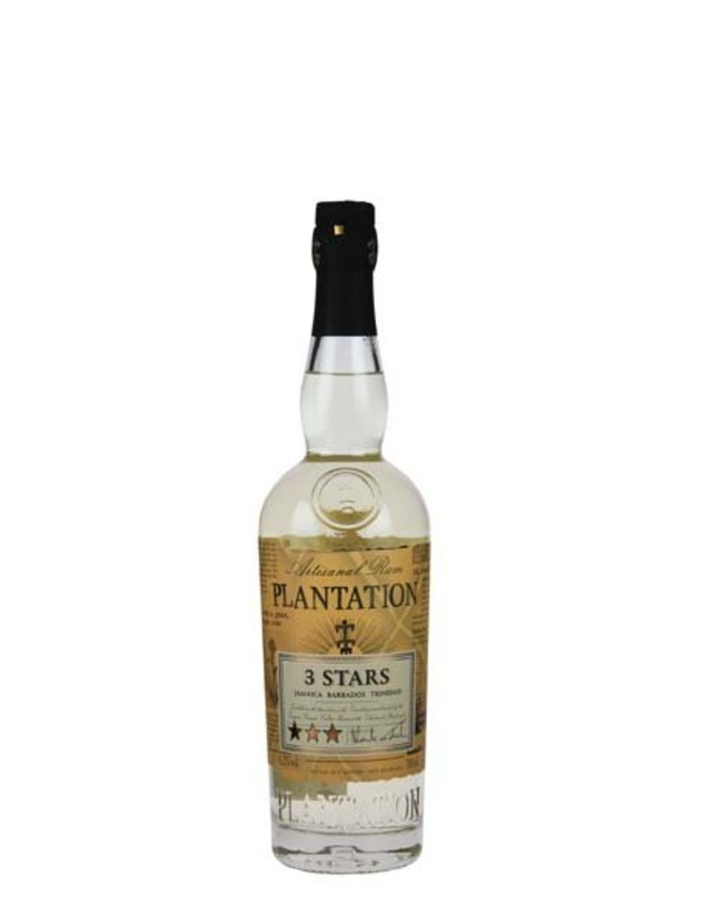 Plantation Plantation 3 Stars White 0,7L 41,2% Alcohol