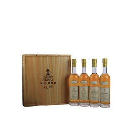 A.E. Dor A.E. Dor Cognac Coffret Cru Collection 4x200 ml Gift box