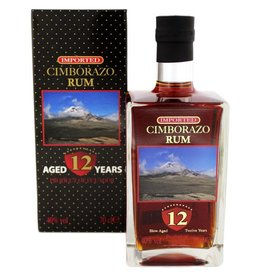 Cimborazo Cimborazo 12 Years Old 700ml Gift box