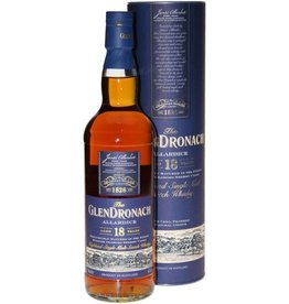 Glendronach 18YO Allardice Malt Whisky 700ml Gift box