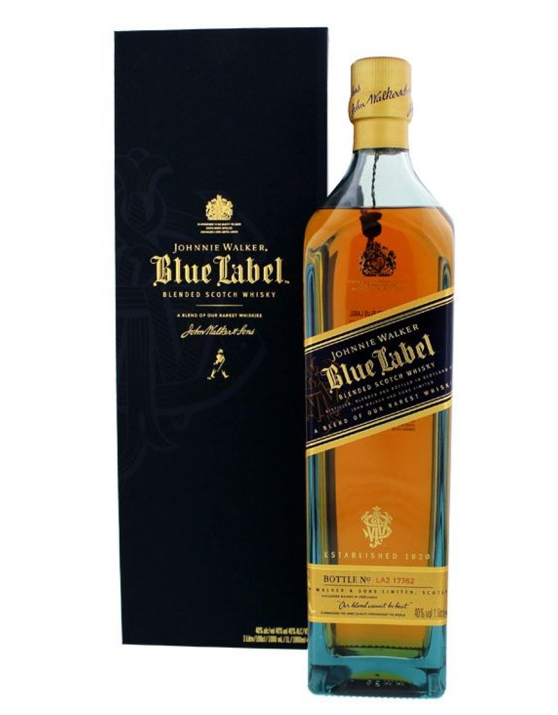 Johnnie Walker Blue Label 1 Liter Gift box