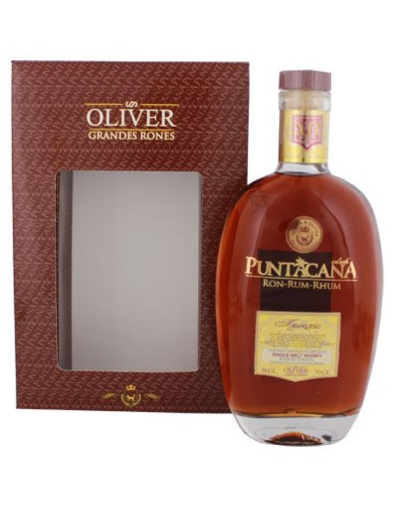 Puntacana Tesoro 15 Years Old Malt Whisky Finish 700ml Gift box