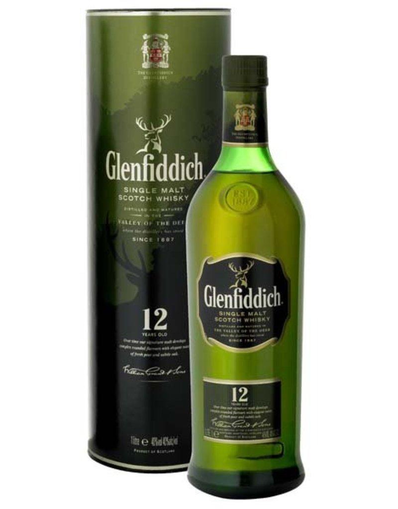 Glenfiddich Glenfiddich 12 Years Old Malt Whisky 1 Liter Gift box